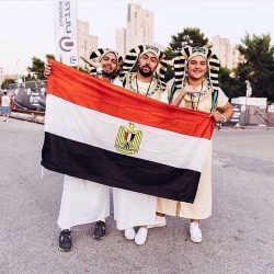 A group of Egyptians decided to go to @UltraEurope and show the whole world what its like to be an Egyptian!Will you be dancing like an Egyptian during #FSOE400 tour this year?