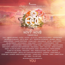 We're playing #EDCOrlando in November!!!! What Tritonians are going to be joining us?!