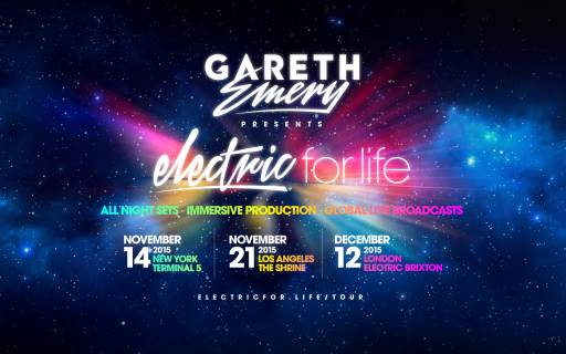 Electric For Life Tour announced