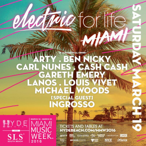 Electric For Life Miami 2016