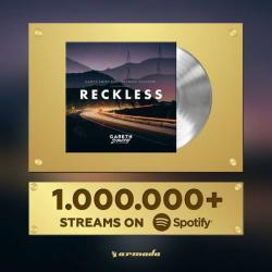 1 MILLION STREAMS ON @SPOTIFY. THANK YOU 👊👊👊 #RECKLESS https://t.co/rBtNLzDItE