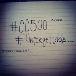 #CC500 unforgettable ♡